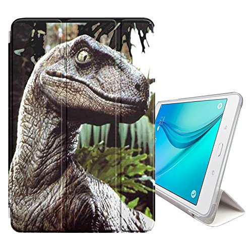 STPlus Dinosaur Prehistoric Animal Smart Cover With Back Case + Auto Sleep/Wake Function + Stand for Samsung Galaxy Tab A - 8'' (T350/T351/T355 Series) by STPlus