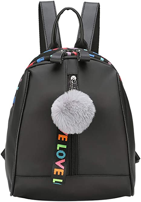 Fannyfuny bolsos Mujer Maletin Mochilas Escolares Mujer Mochila de Cuero Mochila de Bolsa de Mano Mochilas Casual Bolsa de Viaje Messenger Bag