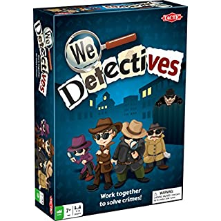 Tactic Games US 53394 - We Detectives Board Game - Family Fun - 2 or More Players