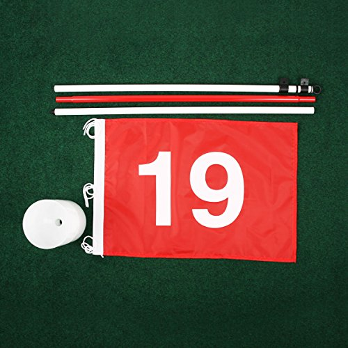 Tour Gear Portable Golf Flag with Cup by Tour Gear (Image #2)