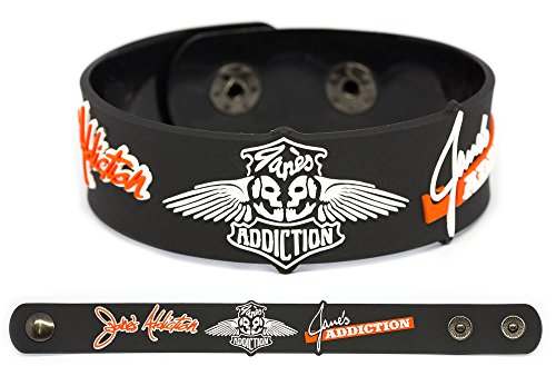 JANE'S ADDICTION Rubber Bracelet Wristband Ritual de lo Habitual