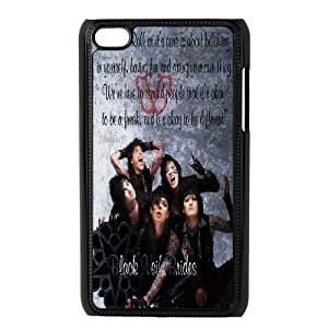 Custom High Quality WUCHAOGUI Phone case BVB - Black Veil Brides Music Band Protective Case FOR IPod Touch 4th - Case-9