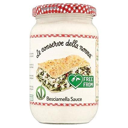 Conserve Della Nonna Bechamel Lasaña salsa – 340 g (0.75lbs ...