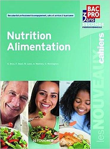 Amazon Com Nutrition Alimentation Sde Bac Pro Les Nouveaux