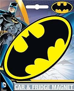 Ata-Boy DC Comics Die-Cut Batman Logo Magnet for Cars, Refrigerators and Lockers