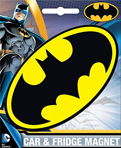 Ata-Boy DC Comics Die-Cut Batman Logo Magnet for Cars, Refrigerators and Lockers