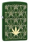 Zippo Leaf Design Pocket Lighters