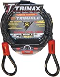Trimax TDL815 Trimaflex 8' X 15mm Dual Loop Multi-Use Cable