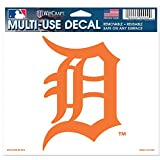 """MLB Detroit Tigers 90236010 Multi-Use Colored Decal, 5"""" x 6"""""""