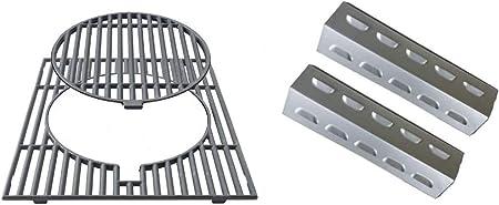 Rejilla de hierro fundido con anillo desmontable Campingaz – Sistema Culinary Modular + 2 altavoces para quemadores of Australia