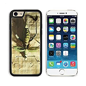 Green Insect Sample on Floor Mogo Outlet iPhone 6 Cover Premium Aluminium Design TPU Case Open Ports Customized Made to Order