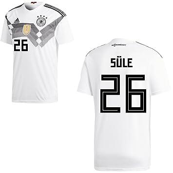 Fan sport24 Adidas DFB Alemania Camiseta de fútbol Camiseta Home WM 2018 Hombre süle 26 Gr XXXL: Amazon.es: Deportes y aire libre