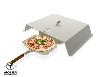 Billig Gasgrill Xxl : Moesta bbq pizzacover fix der pizzaaufsatz für gasgrills
