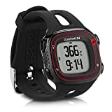 kwmobile Silicone Watch Strap for Garmin Forerunner 10/15 - Fitness Tracker Replacement Band - Sports Wristband Bracelet with Clasp