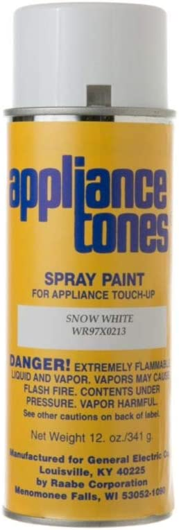 Ge WR97X213 Appliance Spray Paint, 12-oz (Snow White) Genuine Original Equipment Manufacturer (OEM) Part
