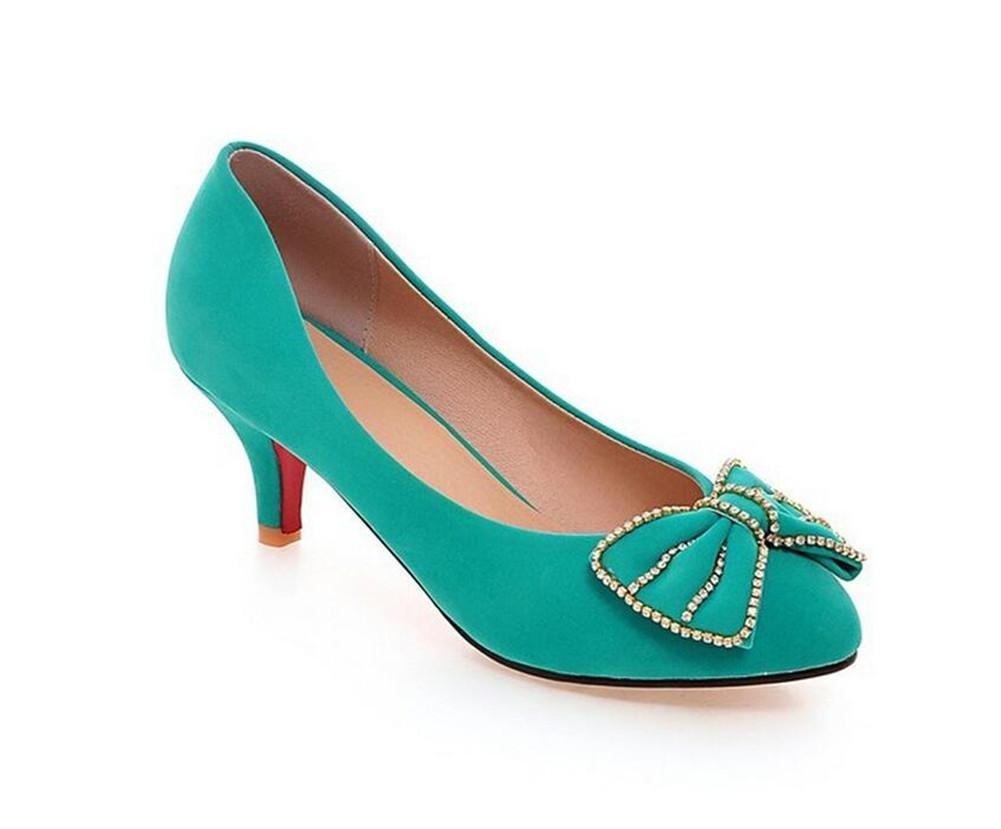 XIE Flache Mund Gericht Schuhe beiläufige Bequeme Temperament Rhinestones Runde Schuhe der Zehefrauen