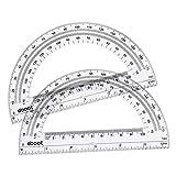 Plastic Protractor Math Protractors 180