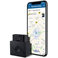 GPS Tracker, Willaire No Monthly Fee OBD Real Tme Locator GSM/GPRS Viehicle Tracker with Free App's Contracts for Tracking Vehicles