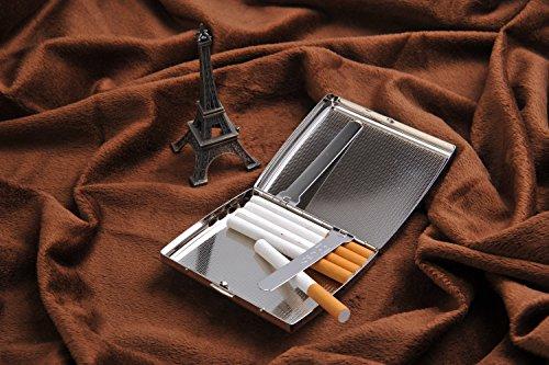 Mod 18 18 Caja Kc2 Style 1920 De Tiene La Holds Mod De Cigarrillos Alto Case Steel Estilo 1920s Grado Acero Inoxidable grade Cigarrillo Stainless De De Cigarette de 01 de Kc2 Cigarettes High 01 qa4v8v