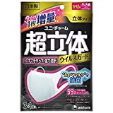 Japan Facemask - (Made in Japan PM2.5 corresponding) supersolid mask virus guard Ag + filter antibacterial smaller size 3 + 1 pieces (unicharm) *AF27*