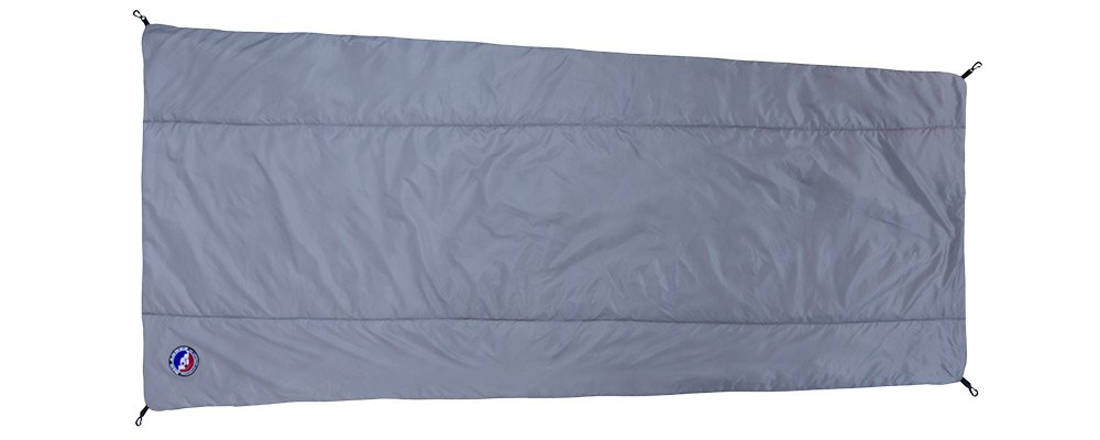 Big Agnes Primaloft Synthetic Sleeping Bag Liner, Gray by Big Agnes