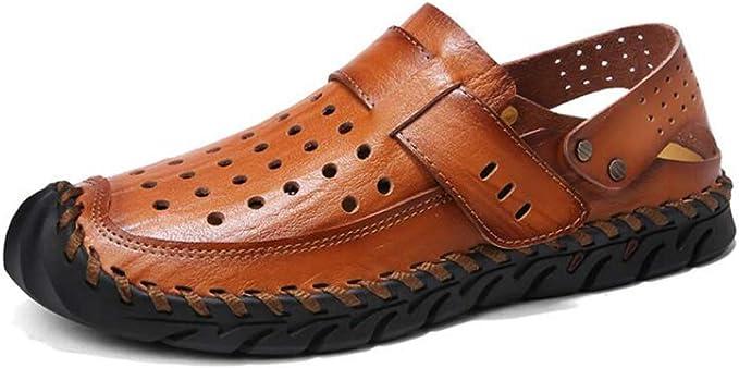 Chaussures de Randonn/ée Homme Sandales Bout Ferm/é de Sport Ete de Marche de Plage Respirant