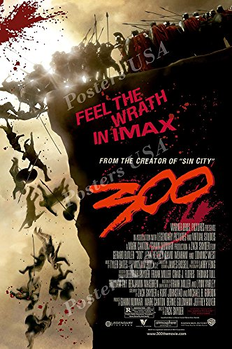 Posters USA 300 Movie Poster GLOSSY FINISH - MOV253 )