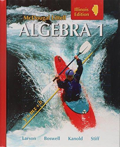 McDougal Littell Algebra 1: Student Edition 2008