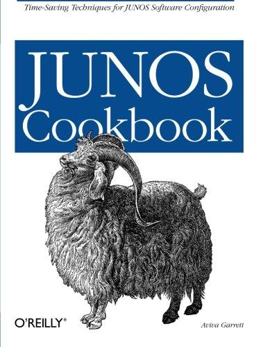 JUNOS Cookbook: Time-Saving Tech...
