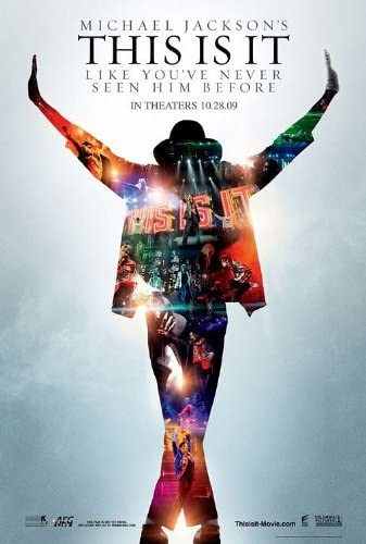 Amazon.com: THIS IS IT MOVIE POSTER 2 Sided ORIGINAL 27x40 MICHAEL JACKSON:  Prints: Posters & Prints