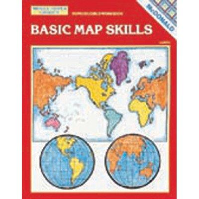 Basic Map Skills Grade 6 - 9 Book [Set of 2] -