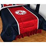 MLB Boston Red Sox Comforter Sidelines Baseball Bedding