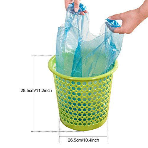 Small Garbage Bags : Aosbos handle tie small trash bags for bathroom and