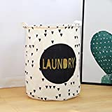 "DOKEHOM DKA0818BKL 19.7"" Large Laundry Basket"
