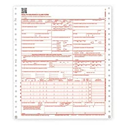 Paris Business Products CMS Forms, 9 1/2 x 11, 2500 Forms