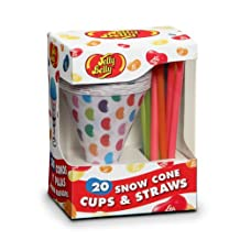 Jelly Belly JB15928 20 Cups and Straws, Multi