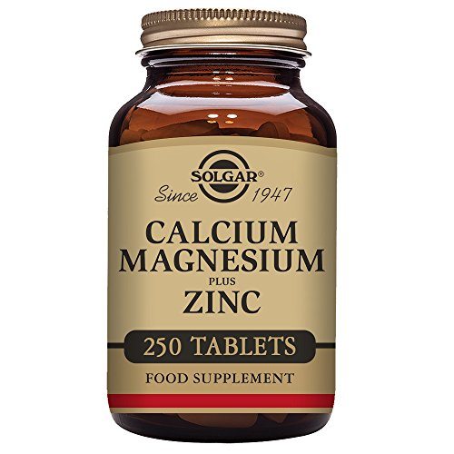 Calcium Gluconate Tablets 250 (Solgar – Calcium Magnesium Plus Zinc, 250 Tablets)