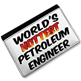 RFID Passport Holder Worlds hottest Petroleum Engineer, Cover Case / Wallet - N