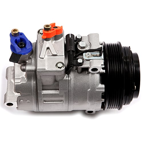 SCITOO A/C Compressor and Clutch CO 105111C Fits Mercedes Benz Chrysler Dodge Models (Mercedes A/c Clutch Benz)