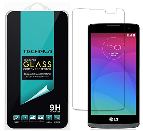 TechFilm - LG Destiny / LG Sunset [Tempered Glass] Screen Protector, Premium Ballistic Glass Round Edge [0.3mm] Ultra-Clear Anti-Scratch, Anti-Fingerprint, Bubble Free [1 Pack]- Retail Packaging