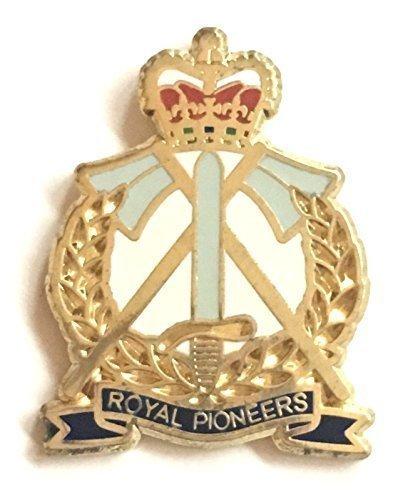 Royal PIONNIERS militaire badge épinglette en émail emblems gifts