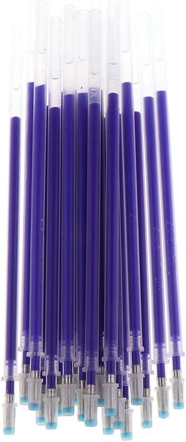 Blu Rosso Baoblaze 40Pcs Penne per Marcatura in Tessuto Cancellabile A Caldo Ricariche per Sarti da Cucito E Trapuntatura per Sartoria Perfetto per La Marca