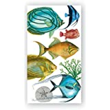 Michel Design Works Tropical Fish Hostess Napkins, Package of 16, 3-Ply