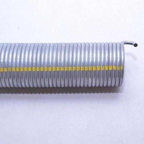 L21 R21 f/ür H/örmann Garagentorfeder Torfeder. 2 St/ück Torsionsfeder R702 L702