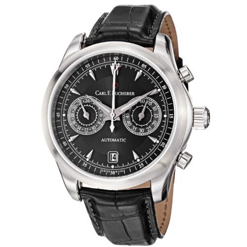 carl-f-bucherer-mens-0010910083301-manero-black-chronograph-dial-and-strap-watch