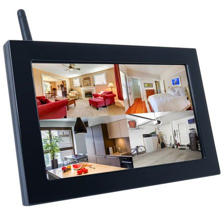 Amazoncom Sleuthgear Wireless Picture Frame Hidden Camera With