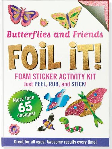 Butterflies and Friends Foil It! (Foam Sticker Activity ()