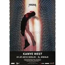 Kanye West - Yeezus Ber 2014 - Poster, Concertposter, Concert