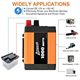 Ampeak 1000W Power Inverter Truck/RV Inverter 12V