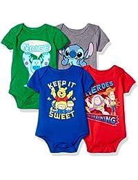 Baby 4-Pack Short Sleeve Bodysuit